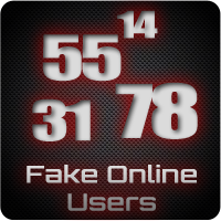 Fake Online Users Icon